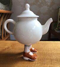 Roger Michell Lustre Pottery Walking Ware Studio 2007 Post-Carlton Teapot RARE