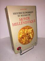 Histoire économique et sociale du monde hellénistique par Rostovtseff   Bouquins