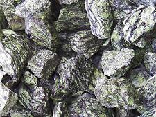 1/2 lb SERPENTINITE  Tumbling Rough Rock Stones tumbler green dragon serpentine
