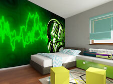 Music Energy Wall Mural Photo Wallpaper GIANT DECOR Paper Poster Free Paste