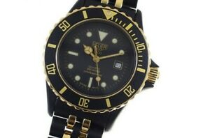 TAG Heuer 1000 Professional 200M Black Gold Divers men's Watch-986.015N