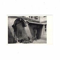 AK Ansichtskarte Frankfurt am Main / Goethehaus / Höfchen mit Brunnen