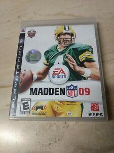 Madden NFL 09 PlayStation 3 PS3