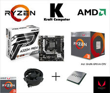 PC Bundle AufrüstKit AMD Ryzen 3 2200G (4x3,7GHz) + AsRock A320M Pro4 + Grafik