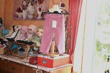 pantalon cyrillus  neuf  3 ans rose couleurs superbe