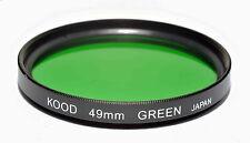 Kood Green Filter Made in Japan 49mm Optical Glass Filter