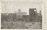 RPPC Ruins of San Francisco RUINS KNOB HILL DESTRUCTION 1906 Quake Postcard