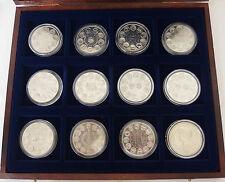 coffret collection trésor du patrimoine pièces monnaies 12 médailles écus europa