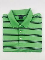 Brooks Brothers Men's Sz XXL Striped No Logo Short Sleeve Polo Shirt Performance
