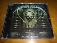 Overkill - Electric Age [Deluxe Edition CD] +4 tracks Thrash Metal New & Sealed