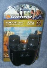 New Celestron Focusview 71179 8-17x25 Multi-purpose Binocular 17x Magnification