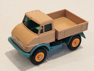 49-B1 Near EXC Unimog Tan/Turq Lesney Matchbox circa '67