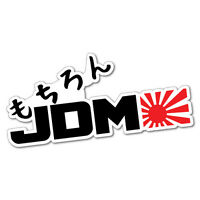 Of Course Jdm Japanese Sticker Decal JDM Car Drift Vinyl Funny Turbo #6863EN