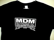MDM RECORDINGS Independent Record Label NEW Celebrating 10 Years T Shirt Size L