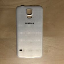 OEM Samsung Galaxy S5 Back Door Battery Cover White