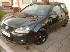 VOLKSWAGON Golf GTi. DSG. 2006 (55). Black. 220 BHP. Paddle Shift