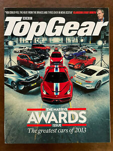 TOP GEAR BBC Magazine Awards 2013 Ferrari 458 Chevy Corvette Stingray Citroen