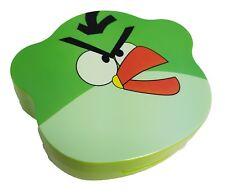 Lente de contacto de color verde furioso Pájaro Lentes Travel Kit Espejo caso Pinzas