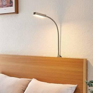 LED-Wandlampe Olof Flexarm Leseleuchte Lampenwelt Sensor Dimmer Schlafzimmer LED