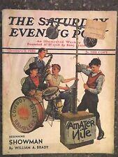 Saturday Evening Post Magazine  January 11,1936  Monte Crews  VINTAGE ADS