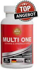Mineralstoffe & Multivitamin Kapseln- Zink- Calcium-Magnesium-Vitamine Tabletten