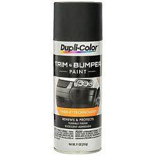 Duplicolor Tb101 Black Auto Bumper Amp Trim 11oz Aerosol Spray Paint