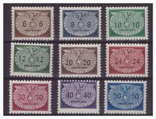 010046 GG 1940 Dienstmarken Hoheitszeichen Kleinformat MNR 16/ 24 **/postfrisch