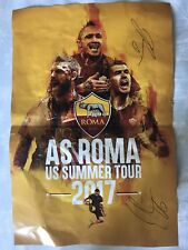 Roma Poster Signed By El Shaarawy And De Rossi