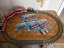 Lego City Trains 7938 Le train de voyageurs 100% complet avec instructions