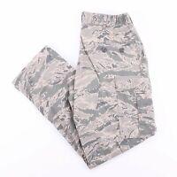 Vintage US AIR FORCE Men's Green Camo Print Cargo Pants W34 L32