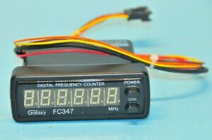 Galaxy FC-347 Digital Frequency Counter Readout