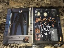 "Halloween Signed Neca 7"" Figure Michael Myers James Jude Courtney Nick Castle"