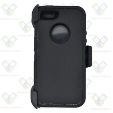 For iPhone 5/5S/SE Case (Universal Belt Clip Fits OtterBox Defender) BLACK