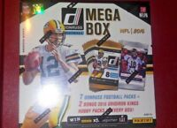 2016 PANINI Donruss Football Mega Box 7 Retail +  2 Grid Iron Kings Hobby Packs