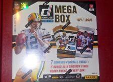 2016 PANINI Donruss Football Mega Box 7 Retail +  2 Grid Iron Kings Hobby Packs