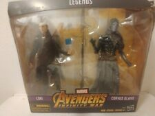 Marvel Legends Series Avengers Infinity War Loki & Corvus Glaive *Box Torn*