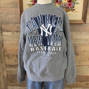 Mitchell & Ness Men's Large MLB New York NY Yankees Sweatshirt