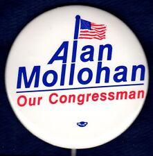 ALAN MOLLOHAN WEST VIRGINIA MOUNTAIN CONGRESS CAMPAIGN POLITICAL BUTTON PINBACK