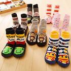 Girl Kids Boy Cute Baby Toddler Anti-slip Shoes Boots Slipper Socks 0-24 Months