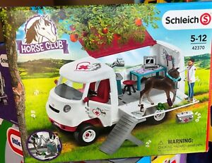 Schleich Horse Club Mobile Vet with Hanoverian Foal NEW IN BOX