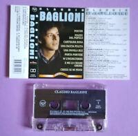 MC Musicassetta CLAUDIO BAGLIONI Omonimo primo piano ITALY pop 1999 no lp cd dvd