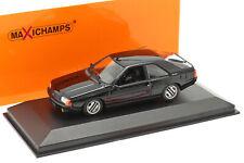 Renault Fuego Baujahr 1984 schwarz 1:43 Minichamps