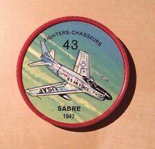 Jello Pane Wheels Fighters # 43 Sabre 1947