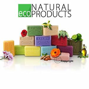 60g Savon de Marseille French Natural Soap with Organic Shea Butter Travel