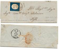 1855 (20/5) Sardegna III Emissione 20c azzurro su lettera x ASTI  firmato Diena