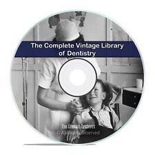 Library of Vintage Dentistry, 103 Books, Dental Dentist Teeth History DVD I02