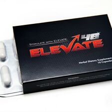Elevate48 Male Sexual Enhancement Pill Herbal Supplement For More Satisfying Sex