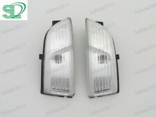 Pair LH RH Mirror Indicator Turn Signal Light Lamps For Ford Everest