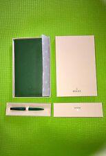 Rolex Pen Wallet & Rolex Note Pad