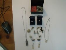 Vintage Costume Jewelry Lot Pre-Owned, Ear Rings, Neckless, Rings, Other Items